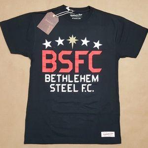 Mitchell & Ness Bethlehem Steel F.C. T-Shirt Men S